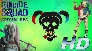 Suicede Squad: Special Ops (PC) Gameplay: Harley Quinn / Oleadas 1-21 Score 174 080