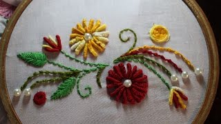 Hand Embroidery Designs | Hand embroidery stitches | Stitch and Flower-97