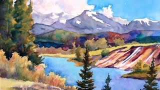 (Preview) Painting Watercolor Landscape Art with Sharon Lynn Williams