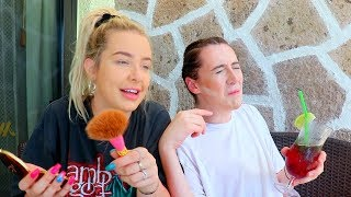 BLACKOUT DRUNK GET READY WITH US IN MEXICO ft. Trevor Moran