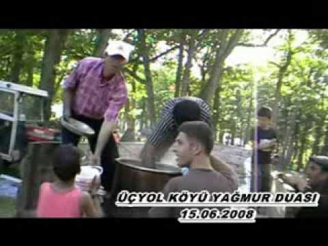 TOKAT TURHAL ÜÇYOL BİÇİN KÖYÜ 2008 Yağmur Duası Klip.flv