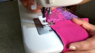 Saree Pico( Piko) Fall Stitching With Sewing Machine At Home Fast And Easy (hindi)