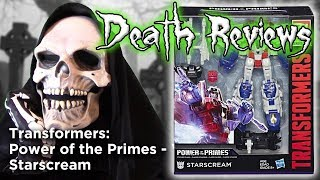 Death Reviews: Starscream - Voyager - Power of the Primes