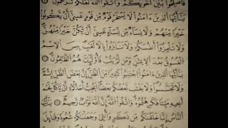 سورة الحجرات الاية 10 13 ياسر الدوسري