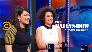 The Daily Show - Abbi Jacobson & Ilana Glazer