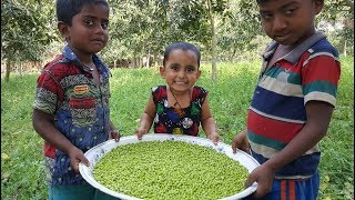 Pea Seed Hodgepodge Cooking By 3 Years Kid - Cute Baby Sneyha