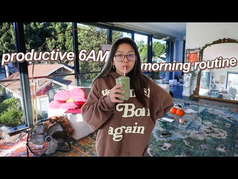 my REAL 6AM morning routine during FALL 2021