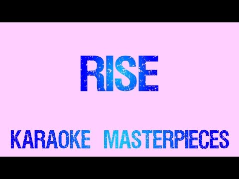 Download Rise (Originally  by Katy Perry) [Instrumental Karaoke] COVER with Lyrics
