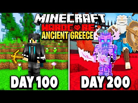 I Survived 200 Days in Ancient Greece on Minecraft Here s What Happened