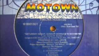 Thelma Houston - Saturday Night,Sunday Morning