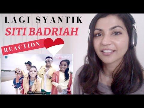 Siti Badriah - Lagi Syantik-- Reaction Video!  Indonesian Music Reaction