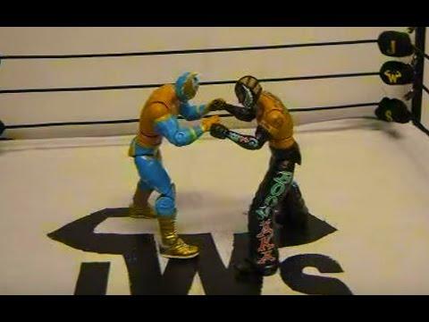 JWS Episode 2 Part 1 Sin Cara vs Rey Mysterio