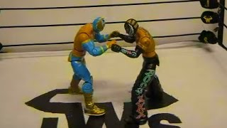 JWS - Sin Cara vs Rey Mysterio (FULL MATCH) Episode 2 Pt 1