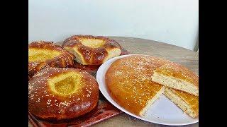 Afghan Sheermal Bread, Pillowy Milk Bread, Ramadan Suhur Bread, (نان شیرمال افغانی (پفکی و شیرین