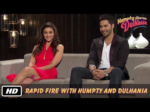 Xxx Mp4 Rapid Fire With Humpty And Dulhania Karan Johar Varun Dhawan Alia Bhatt 3gp Sex
