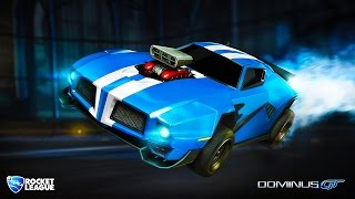 ROCKET LEAGUE: CUSTOMIZING CARS & CRAZY RUMBLE FUN w/ THE CREW (ROCKET LEAGUE RUMBLE)