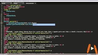 Mostrar/ocultar DIV com javascript