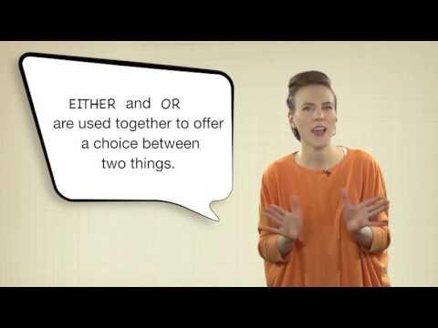 Everyday Grammar: EitherOr, NeitherNor