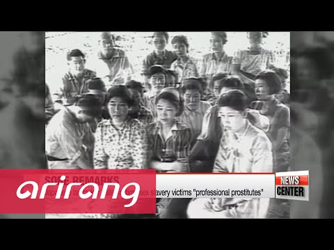 Japanese lawmaker brands Korean wartime sex slaves as