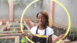 HOW TO BUILD YOUR OWN GREENHOUSE USING HULA HOOPS | DIY PROJECT