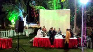 Renish Singing at Nehal's Wedding