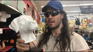 Andrew W.K. goes shopping at American Science & Surplus