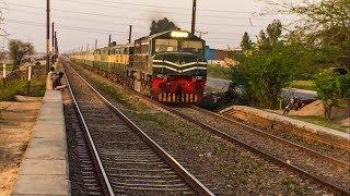 Abandoned Halloki Station   Two Speedy Trains & Inspection Trolley   Pakistan Railways