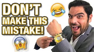 5 BIGGEST MISTAKES WHEN WEARING A DRESS WATCH! - DRESSY vs SPORT WATCH DEBATE