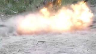 a pipe bomb explosion