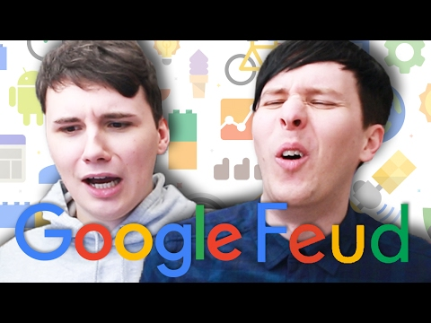 IS IT PAINFUL TO DIE?! - Dan and Phil play Google Feud #2