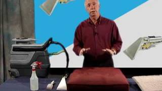Demo of the Freedom Upholstery Cleaning Tool - Jon-Don Video
