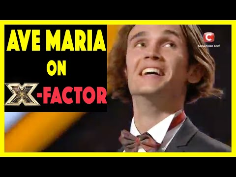 Alexander iUpatov Sings Ave Maria on X Factor and goes to Final Stage