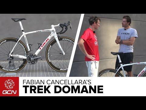 Fabian Cancellara's Trek Domane + Cancellara