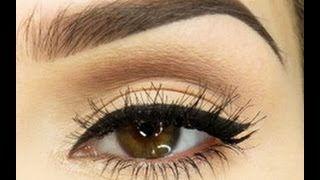 Eyebrow tutorial for thick brows