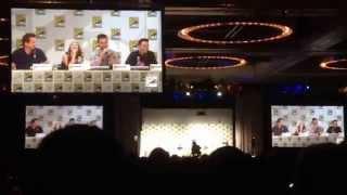 Arrow SDCC 2014 Panel: Barrowman Tells Who He'd Want on Desert Island San Diego Comic-Con