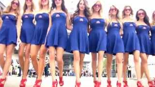 Paddock Girls of the 2014 Red Bull Indianapolis GP