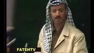 Yasser Arafat Speech Young at the United Nations in 1974 [English subtitles]