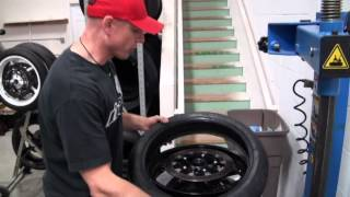 How To Mount a Motorcycle Tire from SportbikeTrackGear.com