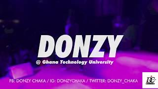 Donzy performs @ Ghana Technology University college