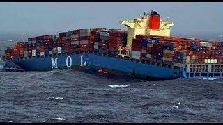 Merchant vessel splits in two off Yemeni coast