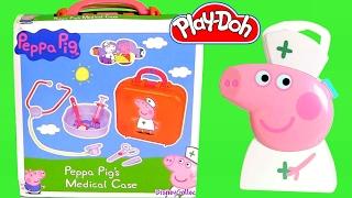 Enfermeira Peppa Pig Maleta de Médico Multikids Doutora Rosa TOYSBR | Nurse Peppa Pig Carry Case