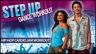 Step Up Revolution: Hip Hop Cardio Jam Fitness Workout- Bryan Tanaka