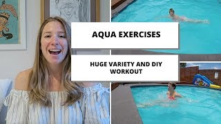 The Ultimate List Of Aqua Aerobic Exercises For Every Demographic, DIY Water Workouts |