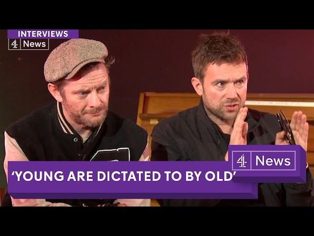 Gorillaz interview (extended): Politics, Brexit, Humanz discussed by Damon Albarn and Jamie Hewlett
