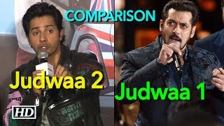 Varun Dhawan REACTS on Comparison with Salman Khan