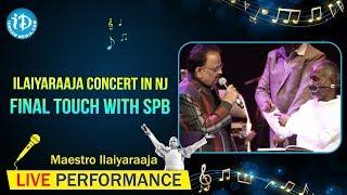 Ilaiyaraaja Concert in NJ Final touch with SPB on February 23, 2013