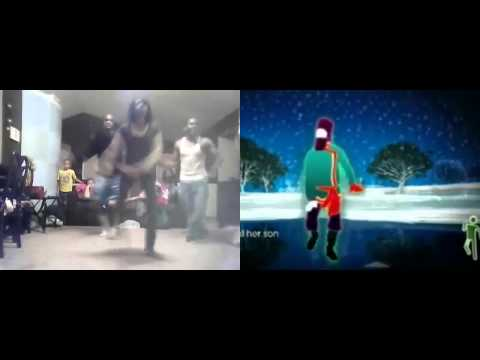 Just Dance 2 Rasputin side by side