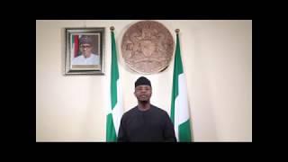 2017 Nigeria Democracy Day Speech By Acting  President Prof  Yemi Osinbajo