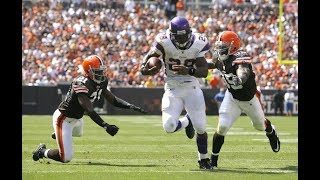Adrian Peterson Destroys The Browns in 2009! | NFL Flashback Highlights