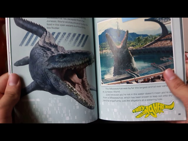 Dino Book Reviews |Jurassic World Fallen Kingdom Survival Guide